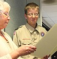 Boy Scouts receive awards for care packages DVIDS485512.jpg