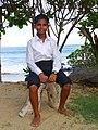 Boy at Wedding - Medaketiya Beach - Tangalla - Sri Lanka (13902973808).jpg