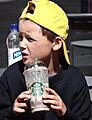 Boy with Starbucks - Helsinki - Finland (35618282670).jpg