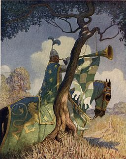 Boys King Arthur - N. C. Wyeth - p82