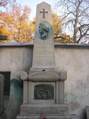Božena Němcová - Grave of Božena Němcová in Vyšehrad Cemetery