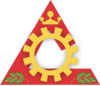 Official seal of Cataguases, Minas Gerais