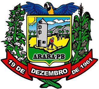 Arara, Paraíba - Image: Brasao arara pb