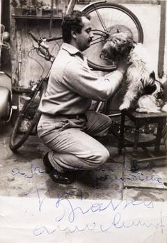 Georges Brassens en 1952.