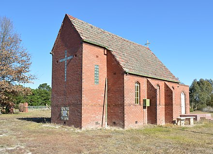 The Chisholm Memorial Church at Breadalbane, New South Wales Breadalbane Anglican Church 004.JPG