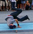 Breakdancer on St.Stephens Square Vienna.jpg