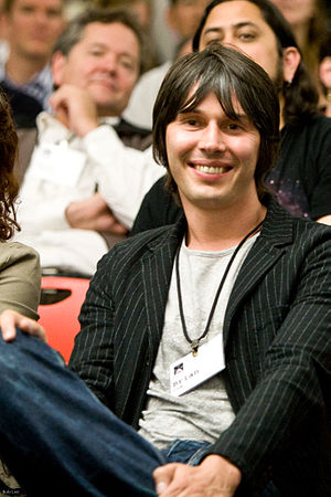 English: Professor Brian cox at Science Foo camp