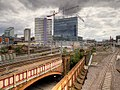 Bridges near Victoria Station, Manchester.jpg