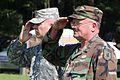 Brig. Gen. (Va.) Justin P. Carlitti, Sr., took command of the Virginia Defense Force from Maj. Gen. (Va.) John Taylor in a ceremony.jpg