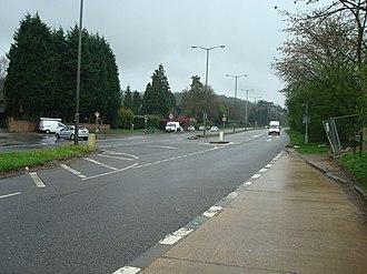 Hooley - Image: Brighton Road, Hooley geograph.org.uk 1244894