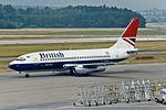 """British Airways Boeing 737-236-Adv G-BGDL """"River Don"""" (26957511222).jpg"""