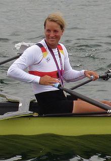 Britta Oppelt German rower