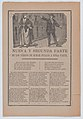 Broadsheet relating to a poor man who is in love with a wealthy woman but cannot provide for her, couple arguing on the street MET DP868501.jpg