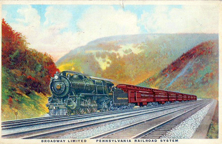 <i>Broadway Limited</i> Former Pennsylvania Railroad and Amtrak passenger train
