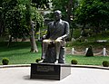 Bronze statue of Turkish politician Mustafa Kemal Atatürk, Gulhane Park, Istanbul, 2017.jpg