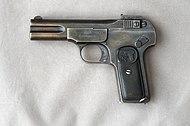 A handgun from 1900
