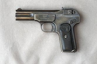 Tottenham outrage - .32 calibre Browning