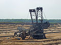 Bucket wheel excavator under repair germany.jpg
