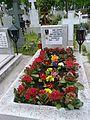 Bucuresti, Romania, Cimitirul Bellu Catolic, Mormantul compozitorului Dan Iagnov, aprilie 2015.jpg