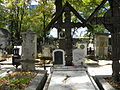 Bucuresti, Romania, Cimitirul Bellu Ortodox (Mormantul lui Nichita Stanescu).JPG