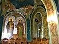 Bucuresti, Romania. BISERICA RUSA-Biserica Sf. Nicolae (B-II-m-A-18814) (pictura pe perete).jpg