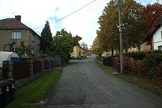 Budišovice - Image: Budišovice, silnice II
