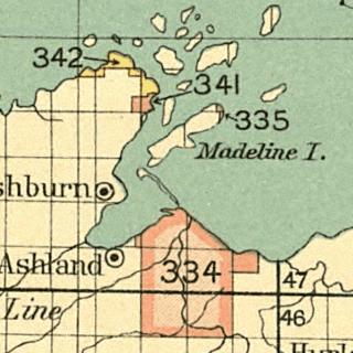 Madeline Island island in Wisconsin, United States