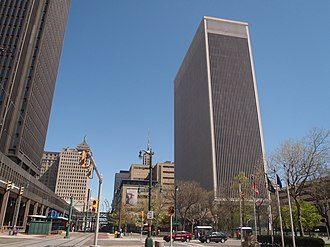 One M&T Plaza - Image: Buffalo main looking north