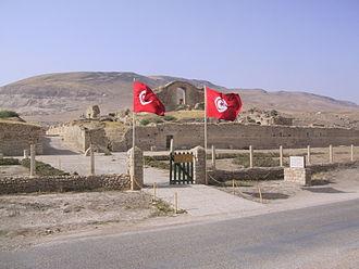 Bulla Regia - Entrance to the site