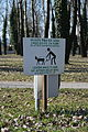Bundek clean up sign 20150307 DSC 0062.JPG