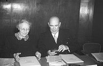 """Bundesarchiv B 145 Bild-F046121-0040, Koblenz, """"Rittersturz-Konferenz"""", Schroeder, Steffan.jpg"""