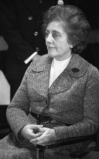 Marie Schlei - Marie Schlei in 1975