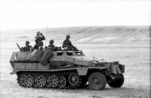 Sd.Kfz. 251, Ausf. C in Russland 1942