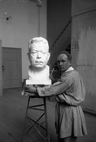 Bernhard Bleeker - Image: Bundesarchiv Bild 102 00220, Büste Friedrich Eberts