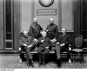German-Hanoverian Party - DHP Reichstag MPs with Ludwig Windthorst (centre), 1889