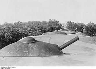 15 cm SK L/35 - Image: Bundesarchiv Bild 137 035454, Tsingtau, Fort Huitschumhuk