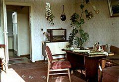 Wohnzimmer Berlin Friedrichshagen 1960