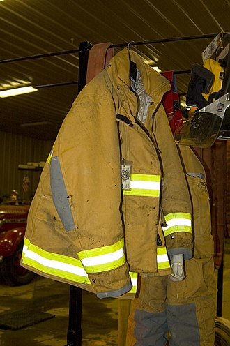 Bunker gear - A turn out jacket