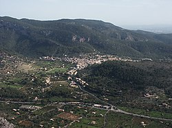 Bunyola vista de sa Gúbia
