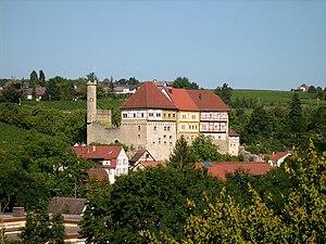 Talheim, Heilbronn - Old Castle seen from west