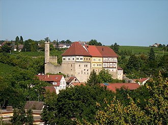 Talheim, Heilbronn - Old Castle seen from west