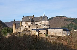 Vianden Castle - Vianden Castle, February 2019