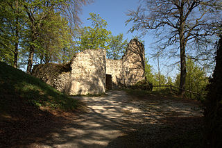 Leienfels Castle castle ruin