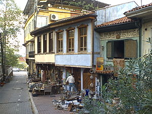 Small business - Small business in Bursa, Turkey. One of the claimed advantages of small business owners is the ability to serve market niches not served by mass production industries. Consider how few major corporations would be willing to deal the risks and uncertainty that small antique store deals with: buying and selling non-standardized items and making quick assessments of the value of rare items.