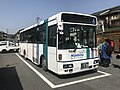 Bus for Hita Station in front of Teruoka Station.jpg