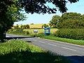 Bus stop, Winterbourne Monkton - geograph.org.uk - 885298.jpg
