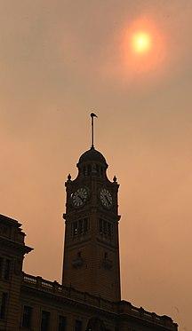 -新南威爾士州-Bushfire smoke Sydney 001