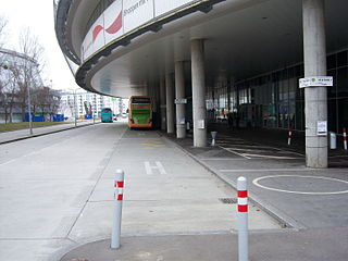 Bus Terminal Vienna (Stadion Center)
