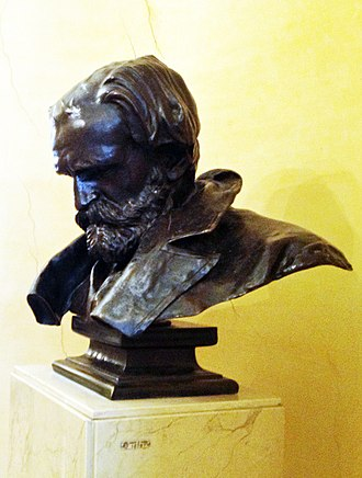 Teatro Regio (Parma) - Bust of Verdi in the foyer