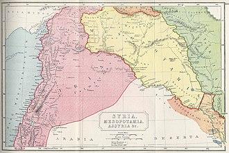 Syrian tetrapolis - Image: Butler syria